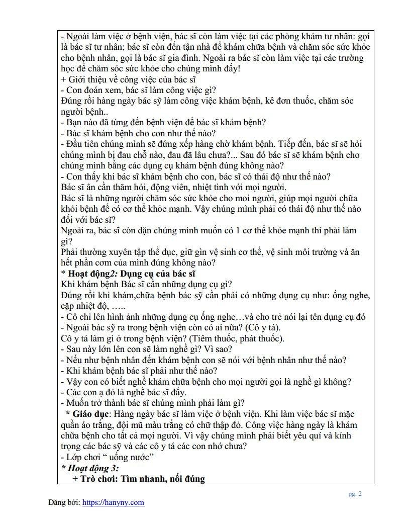 Giáo án mầm non đề tài trò chuyện về nghề bác sĩjpg_Page2.jpg