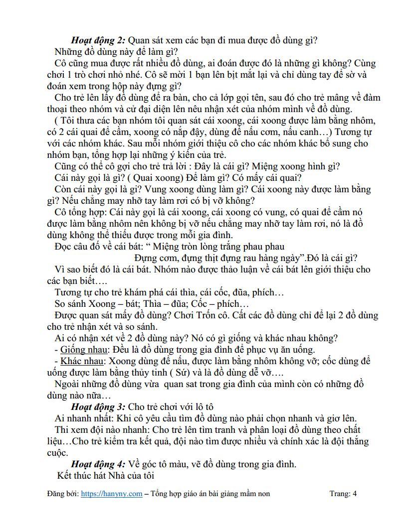 Giáo án mầm non nhu cầu của gia đình bé_trang3