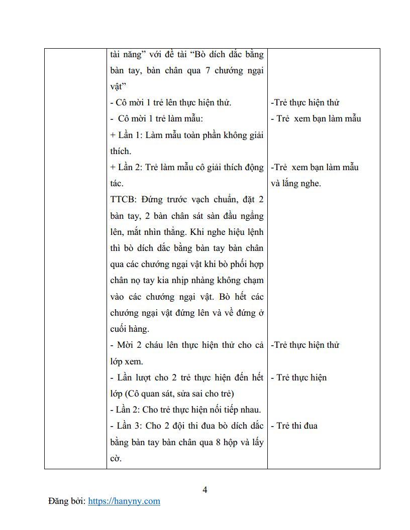 Giáo án mầm non giáo dục thể chất lớp lá 5 tuổi_trang3