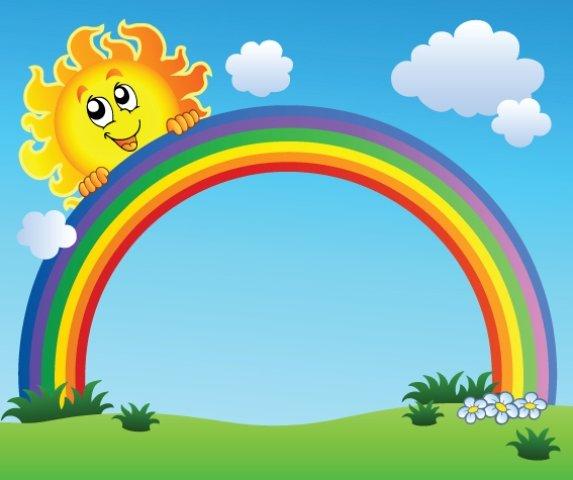 Giáo án mầm non vẽ cầu vồng - Ảnh cầu vồng và mặt trời.jpg