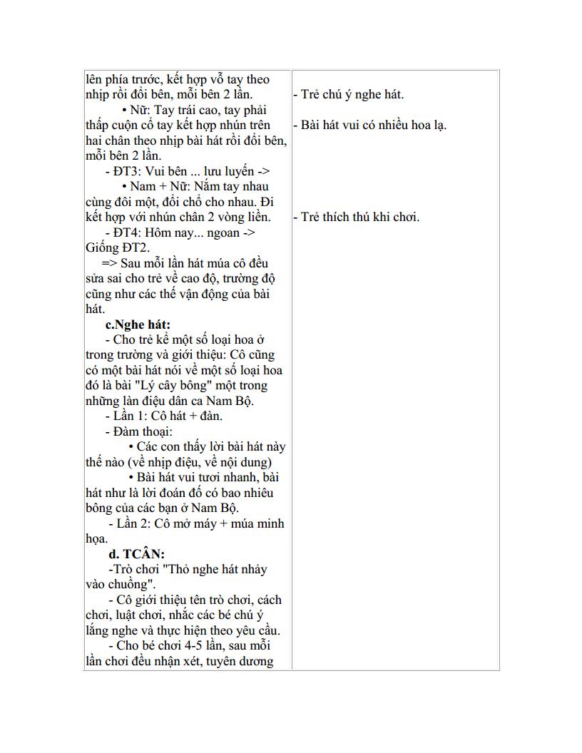 Giáo án mầm non dạy hát múa với bạn Tây Nguyên_trang2