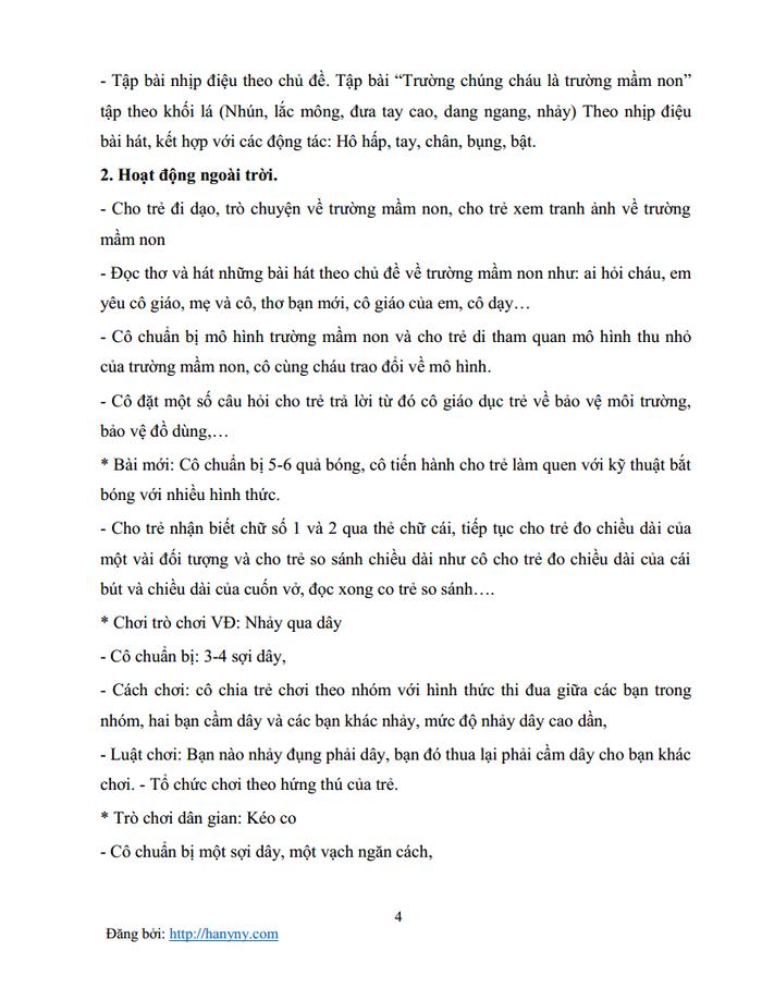 Giáo án mầm non chủ đề trường mầm non 1_trang3