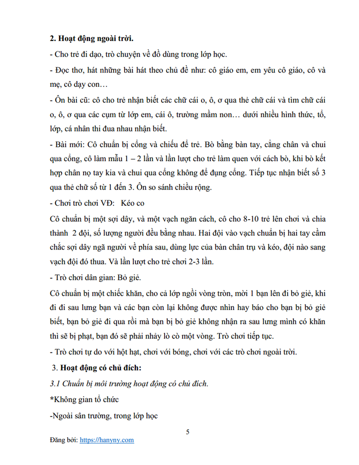 Giáo án mầm non chủ đề trường mầm non 2_trang4