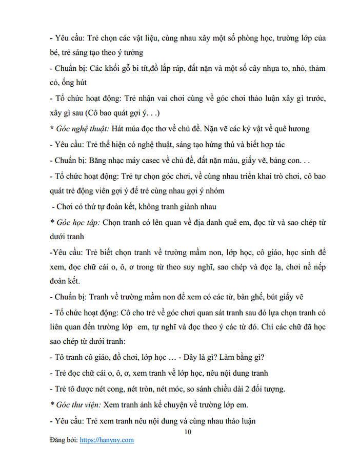 Giáo án mầm non chủ đề trường mầm non 2_trang9