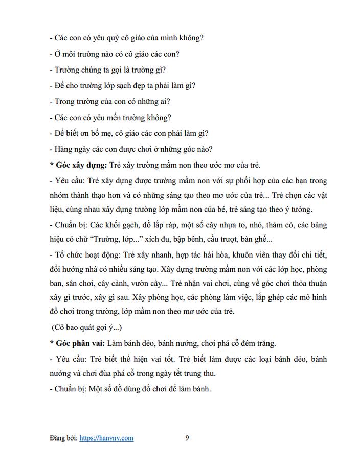Giáo án mầm non chủ đề trường mầm non 3_trang8