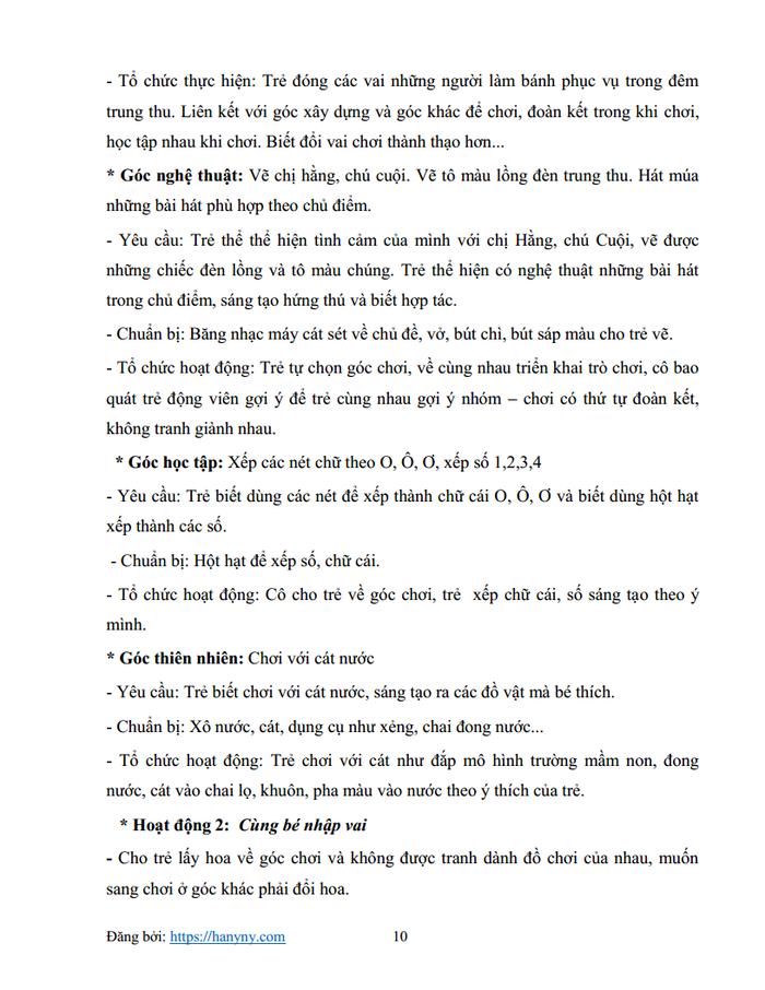 Giáo án mầm non chủ đề trường mầm non 3_trang9