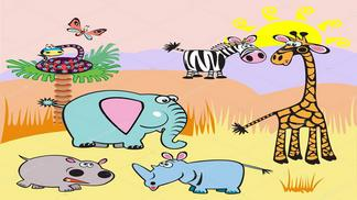 Giáo án điện tử mầm non chủ đề thế giới động vật tuần 1
