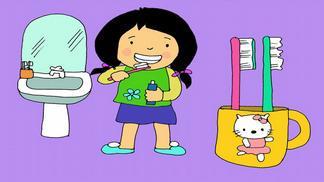 Giáo án điện tử mầm non chủ đề dạy trẻ kỹ năng đánh răng