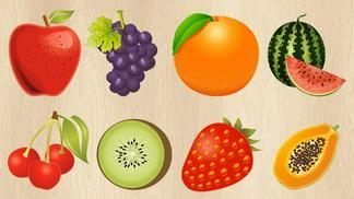 Giáo án điện tử mầm non khám phá khoa học về một số loại quả
