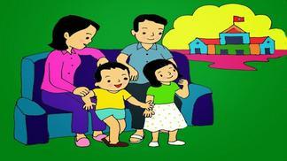 Giáo án điện tử mầm non chủ đề gia đình của bé | Lớp lá 5-6 tuổi