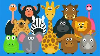 Giáo án mầm non so sánh kích thước của các con vật | Thi cấp huyện